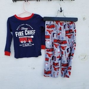 Boys Carters 3T Pajama Set